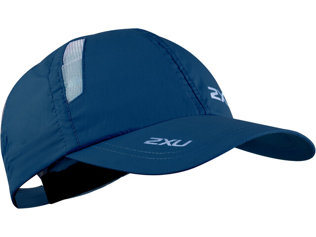 2XU Run Cap poseidon/white